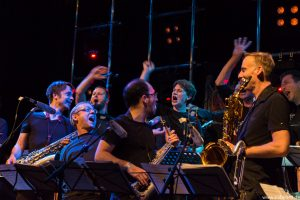 Cologne Contemporary Jazz Orchestra plays Slayer