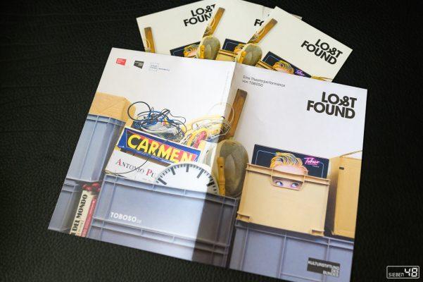 LOST & Found, Inszenierung Ensemble TOBOSO - Foto für Programmheft, Flyer
