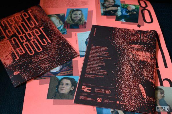 "Fotos für Programmheft etc. ""Jagger Jagger"", Ensemble TOBOSO, Oktober 2020"