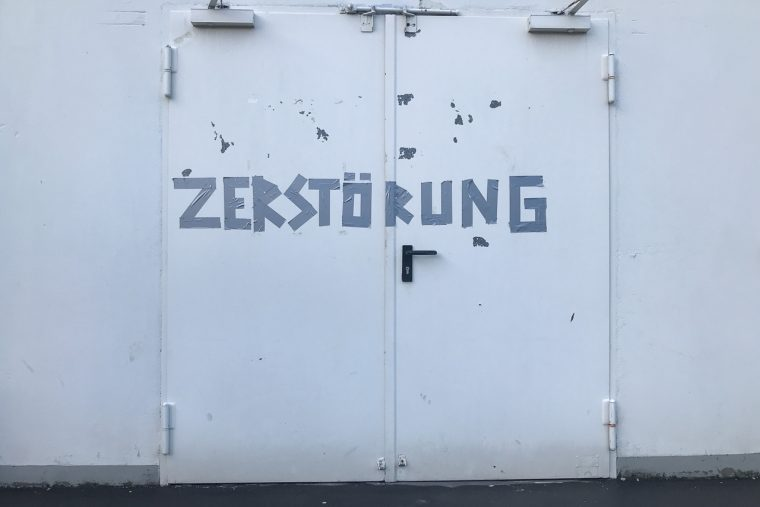 Vision Zerstörung, 09.02.2019, Proberaum Maschinenhaus Essen