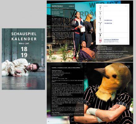 Schauspielkalender Duisburg 2018/19 - Fotos SEINS.FICTION
