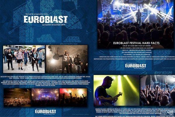 Euroblast - Fotos für Sponsorenbrochüre 2019