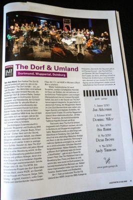 Jazzthetik 2020/01-02 - Foto The Dorf