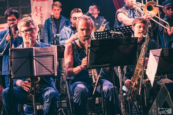 Brigade Futur 3 - Spielvereinigung Süd, XJAZZ Festival 2019, Berlin