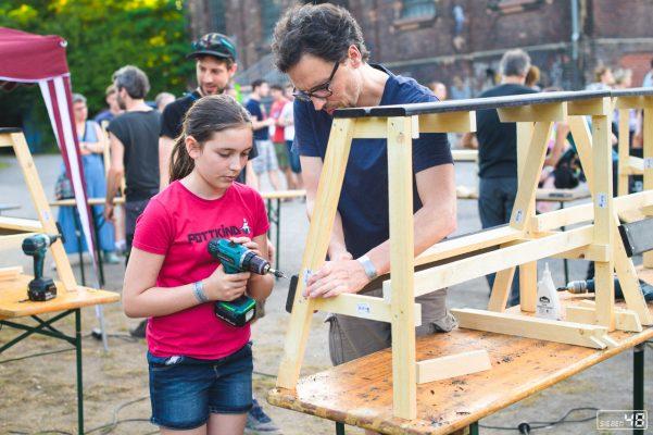 Holzwerkstatt, Full Spin Festival - Extraschicht 2019, Maschinenhaus & Zeche Carl, Essen