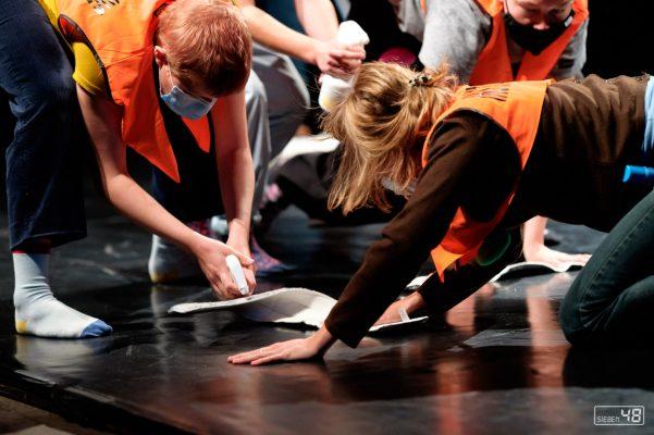 Desinfection Team Performance, Physical Fetz 2020, Maschinenhaus Essen